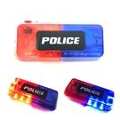 重力感應 LED肩燈 USB充電 防水肩燈 警用肩燈 紅藍燈 警用 警示燈 交通警示 【塔克】