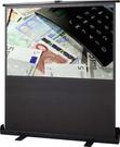地拉式攜帶型席白投影布幕80吋16:9氣壓上昇投影銀幕 一年原廠保固 含稅含運