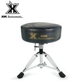 【敦煌樂器】KHK DT1000C-GRK 強化鼓椅 黑底金標款
