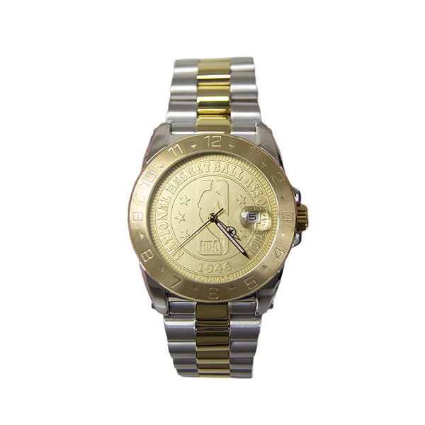 【NBA Limited Edition】NBA70週年精湛限量珍藏機械腕錶-土豪金/NAF-LT1/台灣總代理原廠公司貨一年保固