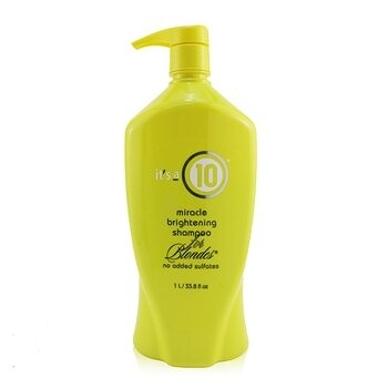 SW-IT S A 10 十全十美-54 Miracle Brightening Shampoo (For Blondes) 洗髮露 1000ml
