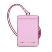 MARC JACOBS 粒面皮革ID卡片票夾(粉色)