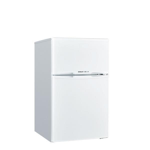 【南紡購物中心】SANLUX台灣三洋【SR-C102B1】102L公升雙門冰箱