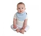 紐西蘭 Mum 2 Mum 機能型神奇三角口水巾圍兜-粉藍 吃飯衣 口水衣 防水衣