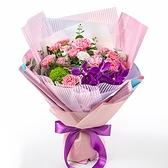 幸福婚禮小物「支持粉色康乃馨花束」鮮花/花束/母親節禮物/康乃馨
