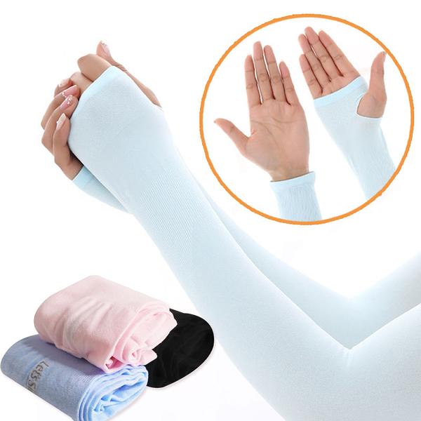 冰絲袖套 冰絲抗UV運動袖套 運動袖套 運動臂套 涼感袖套 防曬袖套 台灣出貨 現貨
