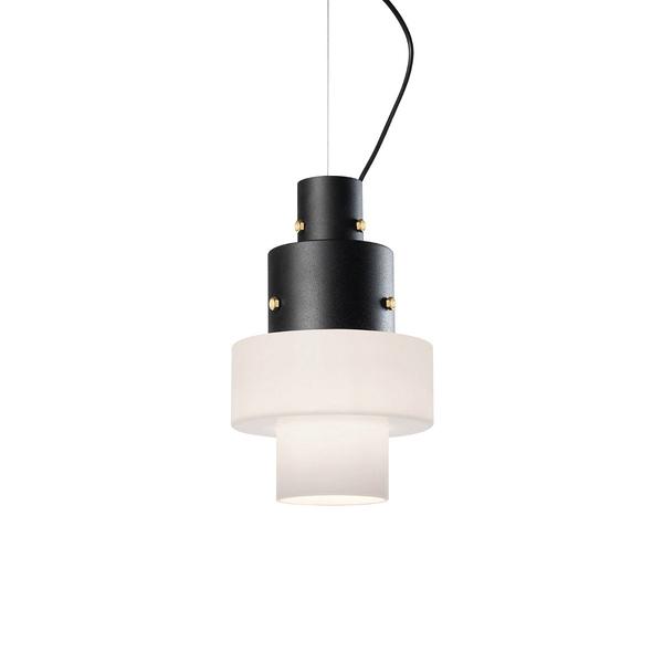 義大利 Diesel x Foscarini Gask Suspension Lamp 層次美學 立塔造型 玻璃 吊燈(白色款)
