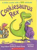 【麥克書店】COOKIESAURUS REX /英文繪本《主題: 餅乾..幽默》