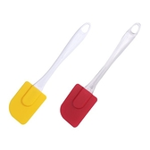 矽膠烘焙刮刀/奶油刮刀(1入) 顏色隨機出貨【小三美日】