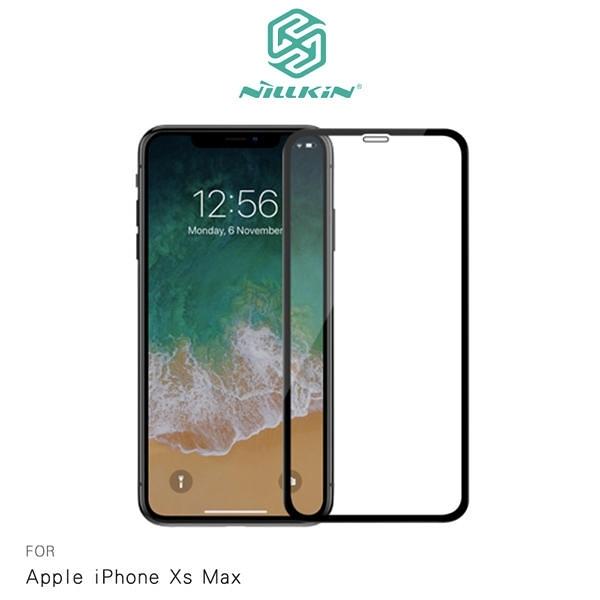 【愛瘋潮】NILLKIN Apple iPhone Xs Max 3D CP+ MAX 滿版防爆鋼化玻璃貼