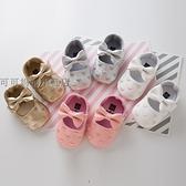 春秋季女寶寶學步鞋0-1歲防滑軟底嬰兒鞋子0-6-12個月公主鞋單鞋 童趣潮品