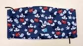 【震撼精品百貨】Micky Mouse_米奇/米妮 ~大人口罩-滿版黑米奇*21416