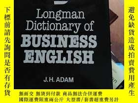 二手書博民逛書店longman罕見DICTIONARY of business