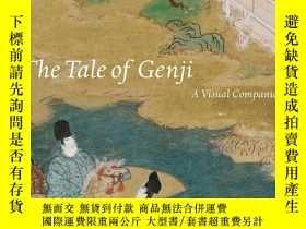 二手書博民逛書店【罕見】The Tale of Genji: A Visual