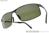 Porsche Design偏光太陽眼鏡 PO8541 D (槍黑) 高科技頂級精品時尚鈦合金系列 墨鏡 # 金橘眼鏡