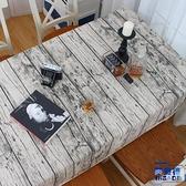 桌巾 布藝棉麻直木紋棉麻桌布/檯布 樹皮紋 抬布 攝影背景【英賽德3C數碼館】