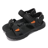 Merrell 涼鞋 Cedrus Convert 3 黑 橘 魔鬼氈 可調整 戶外 男鞋 【ACS】 ML036173