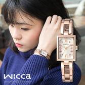 【全台限量500只】New Wicca 時尚氣質女性腕錶 18mm/Wicca/BE1-020-21 現+排單!