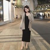 流行洋裝女年新款裝韓版顯瘦內搭針織打底吊帶裙子洋氣 魔法鞋櫃