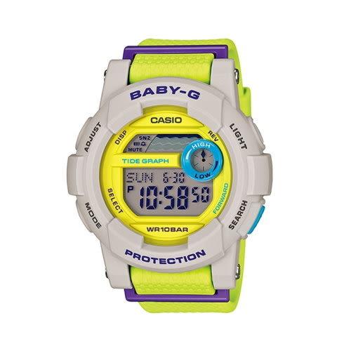 CASIO BABY-G/時尚撞色甜美運動錶/GD-180-3DR