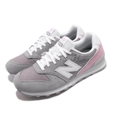 New Balance 慢跑鞋 NB 996 灰 粉紅 女鞋 運動鞋 寬楦 【PUMP306】 WL996BCD
