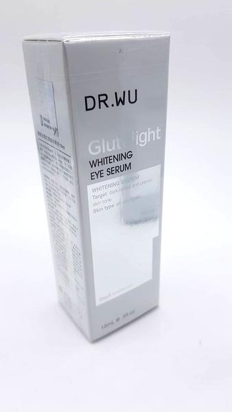 DR.WU 達爾膚 潤透光美白眼部精華液 15ml 效期2022.12