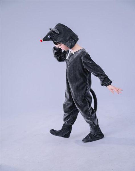 六一元旦兒童動物演出服卡通斑點狗表演服小豬老鼠小狗舞台服  沸點奇跡