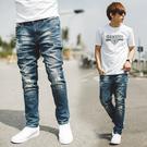 ‧【柒零年代】 ‧牛仔褲,長褲,合身版,小直筒,韓國製 ‧如圖【共一色】