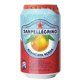 (組)義大利聖沛黎洛氣泡水果水紅橙口味330ml 24入組