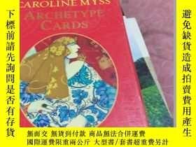 二手書博民逛書店Caroline罕見mrss--Archetype cards