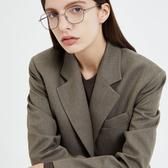 CARIN 光學眼鏡 MOSS C2 (霧黑-霧銀) 韓星秀智代言 百變時尚多邊款 # 金橘眼鏡