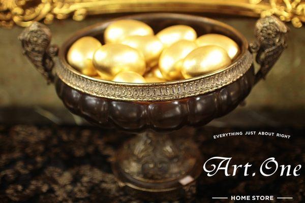 ART ONE 居家設計館 AW14038 樹脂果盤