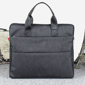 公事包男包手提包商務會議包橫款男士包包休閒牛津布公事包包