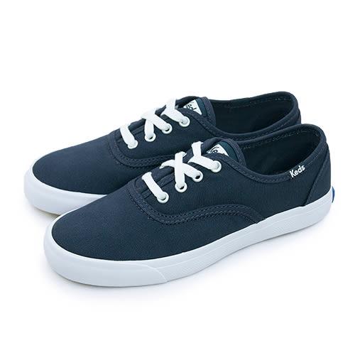 LIKA夢 Keds 時尚韓風經典款帆布鞋 TRIUMPH 28 系列 海軍藍 131517 女
