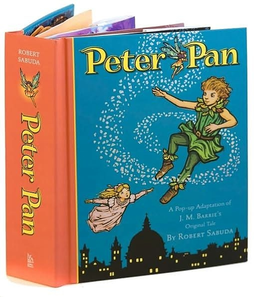 【麥克書店】PETER PAN  /立體書