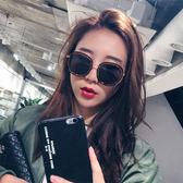新款ins墨鏡女韓版潮gm太陽鏡圓臉網紅時尚街拍防紫外線眼鏡  魔法鞋櫃