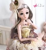 貝翎芭比洋娃娃套裝女孩公主單個玩具仿真精緻禮盒超大聖誕節禮物 現貨快出
