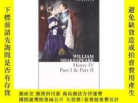 二手書博民逛書店罕見英文原版 Henry IV, Part I & Part I