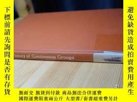 二手書博民逛書店Charles罕見Loewner: Theory of Continuous Groups V. 1Y3540