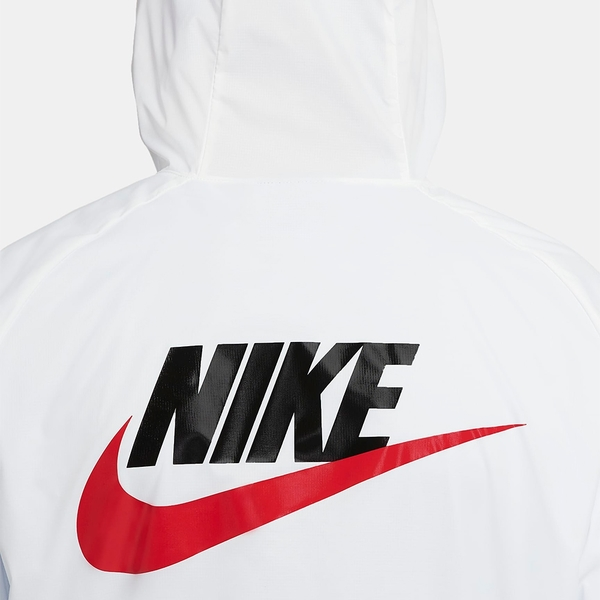 Nike Sportswear 男裝 外套 連帽 風衣 防風 梭織 輕薄 口袋 黑/白【運動世界】CZ8677-010 / CZ8677-100