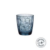 義大利Bormioli Rocco 鑽石水杯6入組-305cc(海洋藍)
