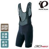 《PEARL iZUMi》T220-3D-5 17 吊帶短車褲 黑