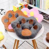 熊爪子抱枕辦公室椅子坐墊