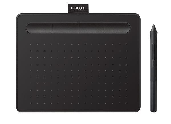 【意念數位館】2018新一代創意版 Wacom Intuos Basic 繪圖板 (入門版)(黑)CTL-4100/K0