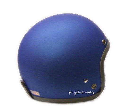 林森●GP-5安全帽,半罩安全帽,3/4帽,復古帽,小帽體,D303,消光藍/灰