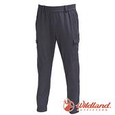 【wildland 荒野】男 彈性貼袋束口休閒褲『深霧灰』0A71340 戶外 登山 休閒 彈性 抗紫外線