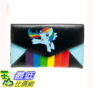 [106美國直購] 彩虹小馬皮夾 My Little Pony Rainbow Dash Envelope Wallet B00FP9KKMO