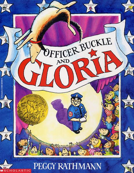 【麥克書店】OFFICER BUCKLE AND GLORIA / 英文繪本+CD