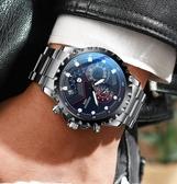機械手錶 智典手錶男全自動機械表時尚潮流學生男士手錶防水運動夜光高中男  維多