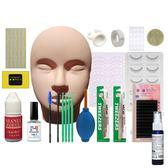 睫毛器 美睫嫁接睫毛工具套裝初學者開店學員培訓假人頭模型基礎練習套裝  酷動3C